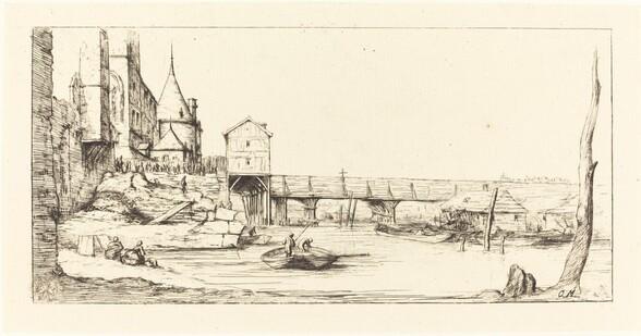 Passerelle du Pont-au-Change, Paris, après l