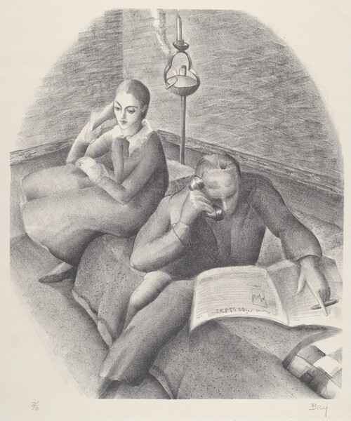 Untitled (Couple on a Couch)