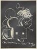 M. Mouse (with) 1 Ear (equals) Tea Bag Blackboard Version (1965)