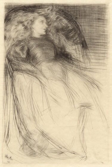 James McNeill Whistler, Weary, 1863