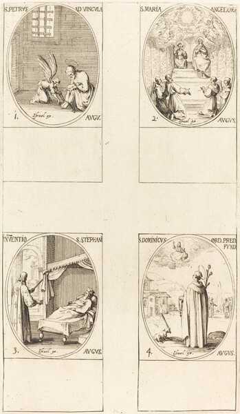 St. Peter, Apostle; St. Mary of Angels; Discovery of the Body of St. Stephen; St. Dom