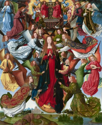 Master of the Saint Lucy Legend, Mary, Queen of Heaven, c. 1485/1500