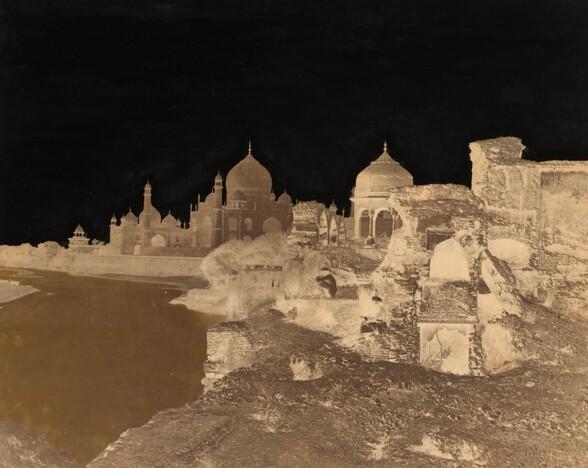 Taj Mahal from the East