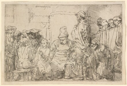 Christ Seated Disputing with the Doctors
