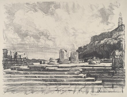 Eleusis, the Pavement of the Temple