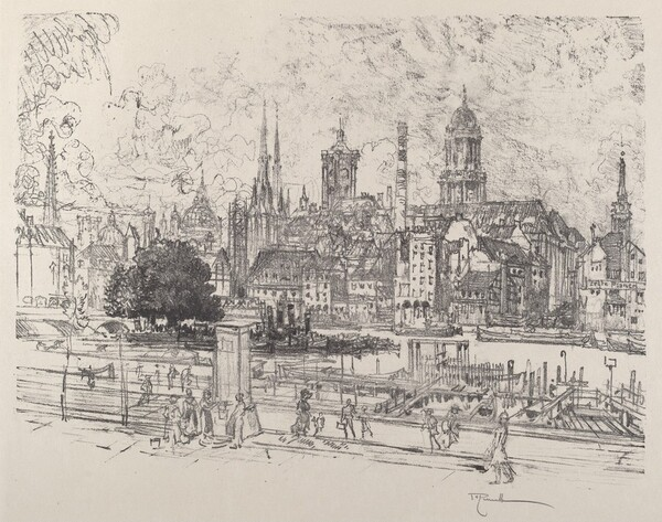 View on the Spree, Berlin