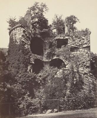 The Exploded Tower, Heidelberg Castle