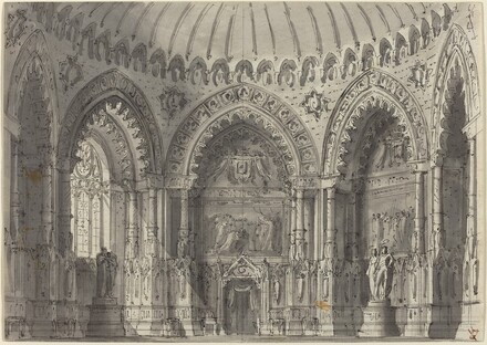 Rotunda in Gothic Style