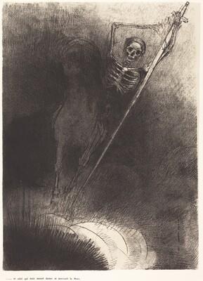 Et celui qui était monté dessus se nommait la Mort (And his name that sat on him was Death)