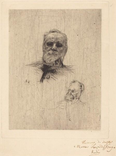 Victor Hugo, De Face