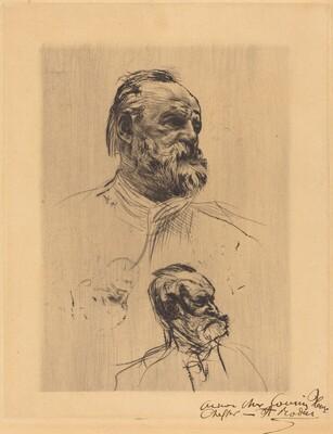 Victor Hugo, De Trois Quarts