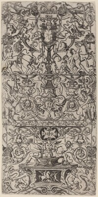 Ornament Panel: Mars, God of Battles