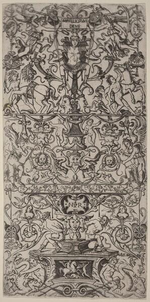 Ornament Panel: Mars, God of Battles