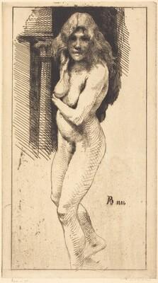 Carmen Standing in the Nude (Carmen nue debout)