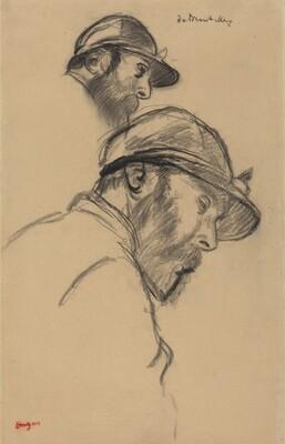 Study of a Jockey (M. de Broutelles)
