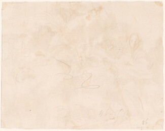Sketch for the Flight into Egypt [verso]