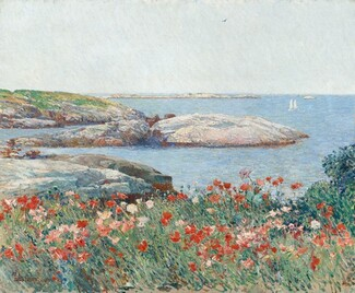 Childe Hassam, Poppies, Isles of Shoals, 18911891