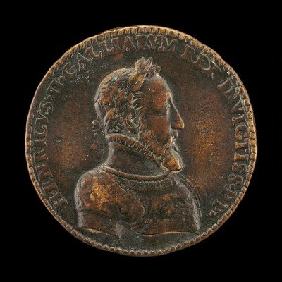 Henri II, 1519-1559, King of France 1547 [obverse]