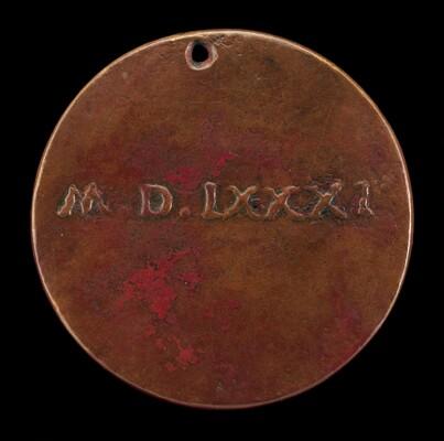Roman Numeral Date 1581 [reverse]
