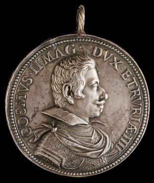 Cosimo II de' Medici, 1590-1621, 4th Grand Duke of Tuscany 1609 [obverse]