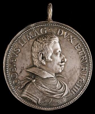 Cosimo II de' Medici, 1590-1621, 4th Grand Duke of Tuscany 1609 [obverse]
