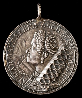 Maria Maddalena of Austria, 1589-1631, Wife of Grand Duke Cosimo II de' Medici 1608 [reverse]