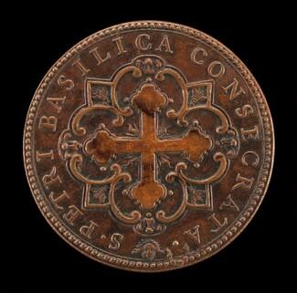 Consecration of St. Peter's (Botonée Cross in Quatrefoil Design) [reverse]