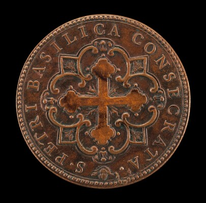 Consecration of St. Peter's (Botonée Cross in Quatrefoil Design) [reverse]
