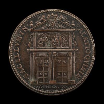 Entrance Portal of the Cappella Paolina [reverse]