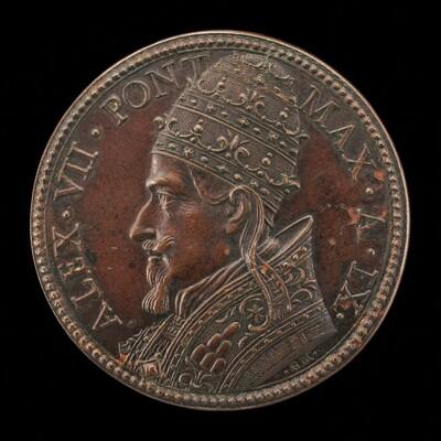 Alexander VII (Fabio Chigi, 1599-1667), Pope 1655 [obverse]