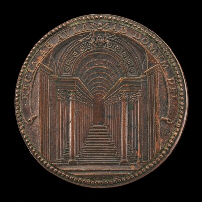 The Scala Regia at the Vatican [reverse]