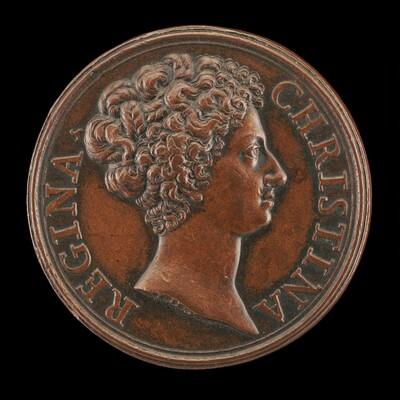 Christina of Sweden, 1626-1689, Queen 1632-1654 [obverse]
