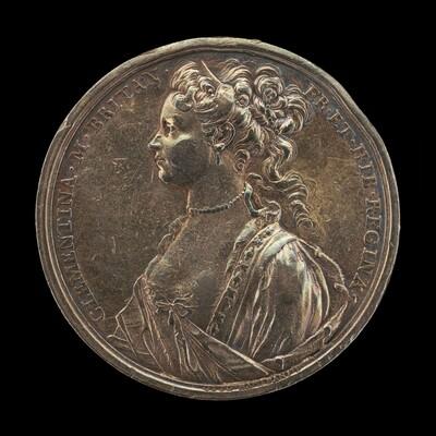 Princess Maria Clementina Sobieska, 1702-1735, Wife of James Stuart, Pretender to the British Throne [obverse]