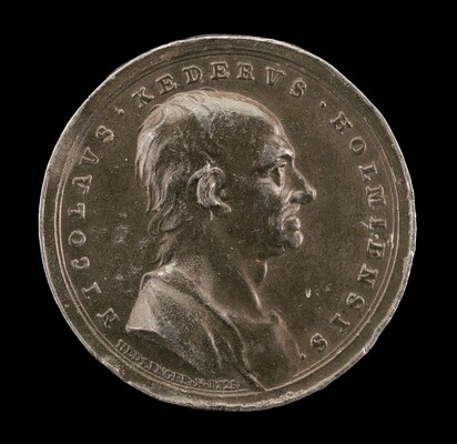 Nicolaus Keder, 1659-1735, Swedish Antiquarian and Numismatic Scholar [obverse]