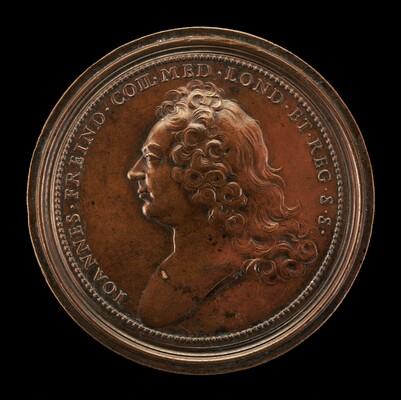 Dr. John Freind, 1675-1728, English Physician [obverse]