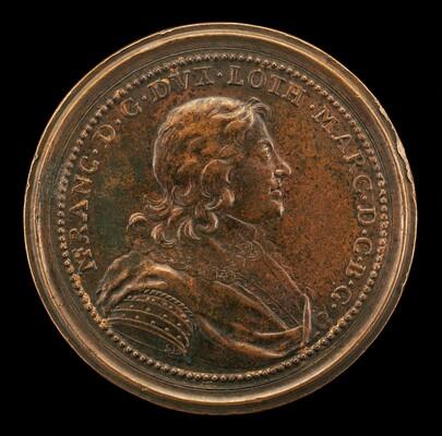 Nicolas François, 1612-1670, Duc de Lorraine 1634-1661 [obverse]