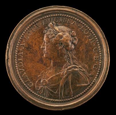 Claudia, 1612-1648, Duchesse de Lorraine 1634 [reverse]