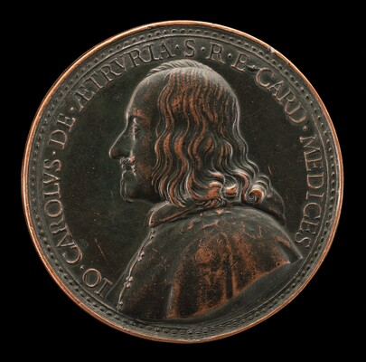 Giovanni Carlo de' Medici, 1611-1663, Cardinal 1644 [obverse]