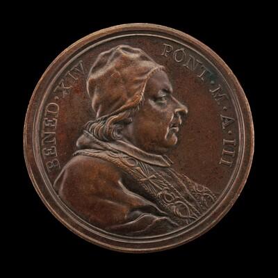 Benedict XIV (Prospero Lorenzo Lambertini, 1675-1758), Pope 1740 [obverse]