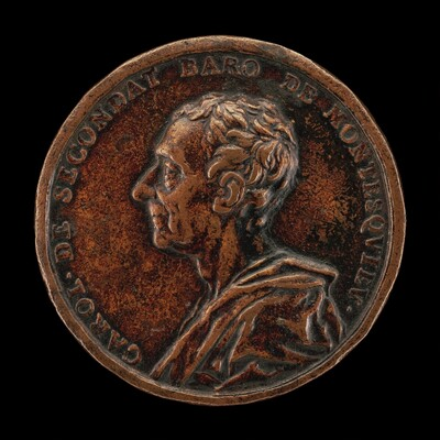 Charles de Secondat, Baron of La Brède and Montesquieu, 1689-1755, Philosophical Historian [obverse]
