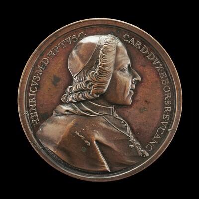 Prince Henry Stuart, 1725-1807, Cardinal of York 1747 [obverse]