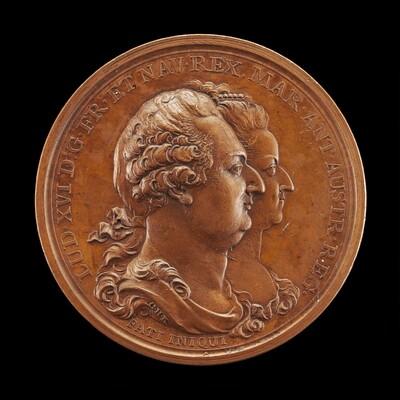 Commemoration of Marie-Antoinette: Louis XVI and Marie-Antoinette [obverse]