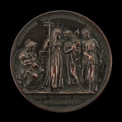 Allegory of the Triumph of Religion [reverse]