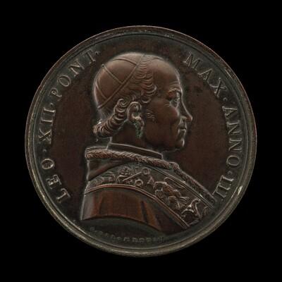 Leo XII (Annibale della Genga, 1760-1829), Pope 1823 [obverse]