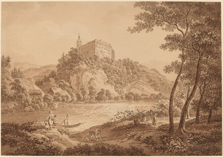 View of Castle Sachsenburg