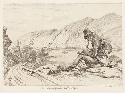 Der Landschaftmaler auf der Reise (The Landscape Painter on Tour)