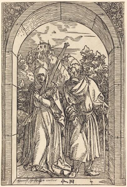 Mater Dolorosa and Saint Joseph