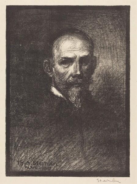 Self-Portrait (Steinlen de face, tete droite)