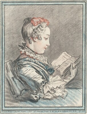 Young Girl Reading Héloise and Abélard