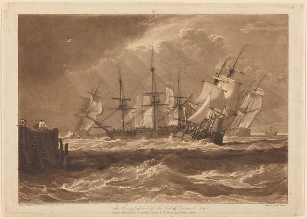 Ships in a Breeze